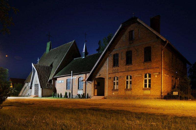 Kościół nocą